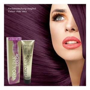 Joico Vero K-Pak Permanent Haar Farbe Creme Coloration 74ml Nuancen zur Auswahl - INV Violet Intensifier