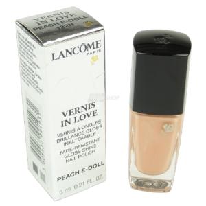 Lancome Vernis in Love - Nagel Lack Farbe Lacquer - Nail Polish Maniküre - 6ml - # 122N Peach E-Doll