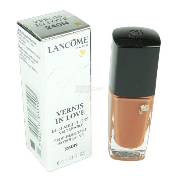 Lancome Vernis in Love - Nagel Lack Farbe Lacquer - Nail Polish Maniküre - 6ml - # 240 Beige Dentelle