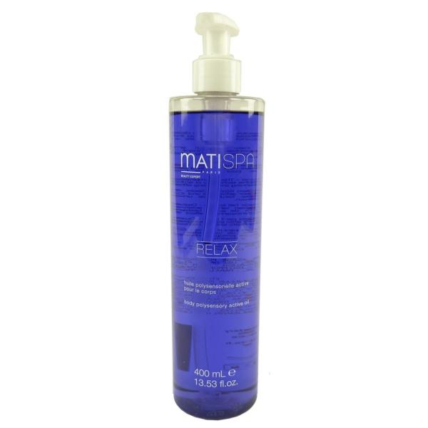 Matis MatiSpa Relax Body Polysensory Active Oil Wellness Körper Massage 400ml