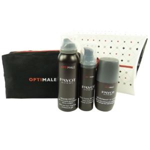 Payot Optimale Herren Geschenk Set Tasche Schaum Gel Smoothing Fluid Deodorant