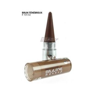 BIGUINE MAKE-UP PARIS Kajal - Augenstift - Augen-Makeup - Kosmetik - 3g - 10502 Brun Tenebreux