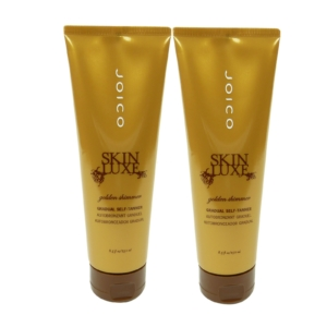 Joico SKIN LUXE Golden Shimmer Self Tanner - Selbst Bräunungs Lotion - 2 x 250 ml