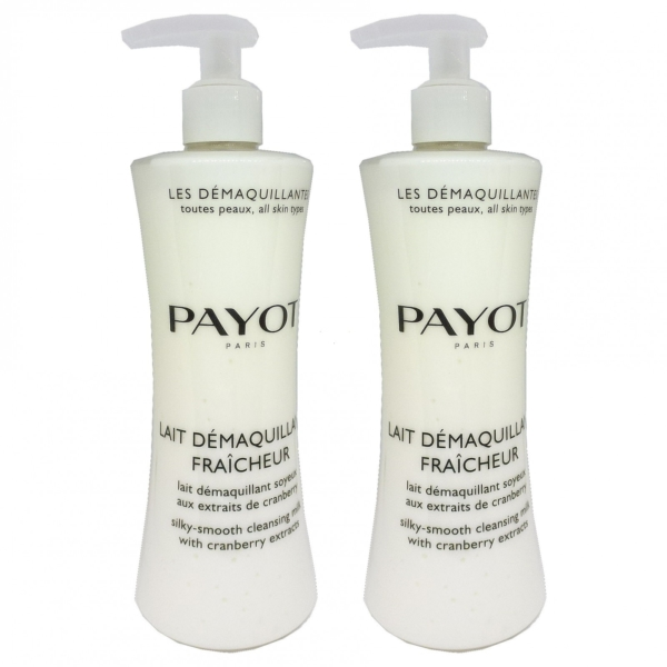 Payot Lait Demaquillant Fraicheur Cleansing Milk Haut Pflege Multipack 2x400ml
