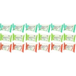 Preven's Paris Antiseptische Feuchttücher Set Reise Hygiene Desinfektion 18 tlg