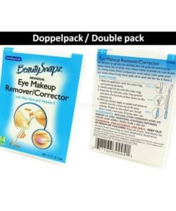 SwabPlus - Beauty Snapz - Eye Makeup Remover Corrector Augen Make Up Entferner - 2-Pack