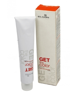 Elgon Get the Color Permanent Coloration Creme Haar Farbe Farbauswahl 100ml - # 6.44 Dark Blonde Copper Intensive / Dunkelblond Kupfer Intensive / Biondo Scuro Rame Intenso