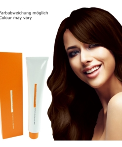 Z.ONE Color The New Attitude Haar Farbe - 100ml - permanent Coloration Creme - 5.34 Golden Copper Light Brown