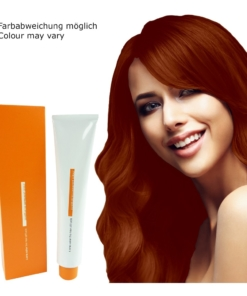Z.ONE Color The New Attitude Haar Farbe - 100ml - permanent Coloration Creme - 7.34 Copper Golden Medium Blond