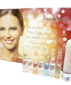 Jean D'Arcel Protect + Perfect Anti Aging Care Gesicht Haut Pflege Öl Serum Set