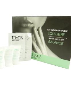 Matis Must have Kit Balance Gesicht Augen Haut Pflege Reinigung Maske Set
