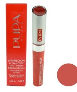 Pupa Lip Perfection Ultra Reflex Extreme Brilliance Lip Gloss - Lippen Farbe 7ml - 09 Reflex Flame Scarlet