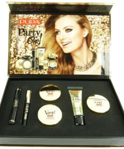 Pupa Party on Make Up Kit Lidschatten Mascara Eyeliner Highlighter Geschenk Set