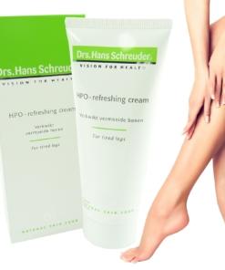 Drs. Hans Schreuder - HPO Refreshing cream - Hautpflege Creme müde Beine 100ml