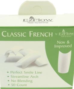 EzFlow künstliche French Finger Nägel Tips in Verschiedenen Sorten - # 06