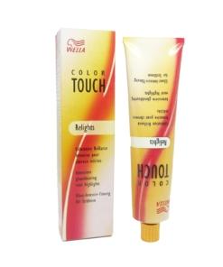 Wella Color Touch Relights Demi Permanente Haar Tönung 60ml ohne Ammoniak - 74 Braun-Rot