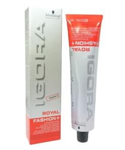 Schwarzkopf Igora Royal Fashion+ Strähnen Haar Farbe 60ml in viele Nuancen - #100-77 Kupfer Glow