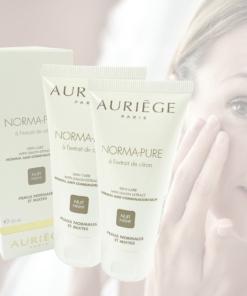 Auriege Paris Norma Pure - Nacht Pflege Creme normale Haut - MULTIPACK 2x50ml
