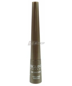 BIGUINE MAKE-UP PARIS Eye Liner Pinceau Brush Augen Make up Kosmetik 2.5ml - 9204 Or Vintage