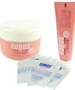Eubos Med Creme Set 130ml + 20ml Haut Ruhe - Körper Pflege trockene Haut