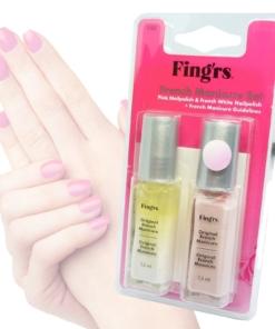 Fing'rs French Manicure Set - Pink + White Nail Polish #1193 - Finger Nägel