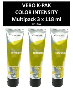 Joico Vero K-PAK Color Intensity Semi Permanent Color YELLOW Haarfarbe 3x118ml