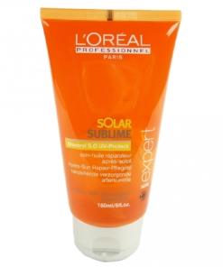 Loreal Solar Sublime Apres Sun Repair - Haar Pflege Öl UV Schutz - 2x150ml