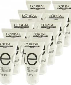 Loreal tecni.art Liss Control glättende Styling Creme lockiges Haar 10x50ml