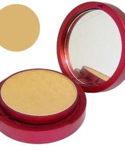 Matis Radiance Pressed Powder Dark Beige Kompakt Puder Teint Gesicht Make Up 10g