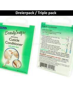 SwabPlus - Beauty Snapz - Nagel Haut Pflege - Cuticle Conditioner - Aloe Vera - 3-Pack