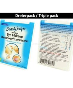 SwabPlus - Beauty Snapz - Eye Makeup Remover Corrector Augen Make Up Entferner - 3-Pack