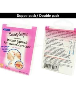 SwabPlus Beauty Snapz Instant Lipstick Remover Corrector Entferner Lippenstift - 2-Pack