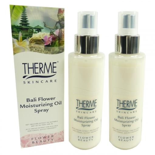 Therme Skincare Bali Flower Moisturizing Oil Spray Körper Öl MULTIPACK 2x125ml