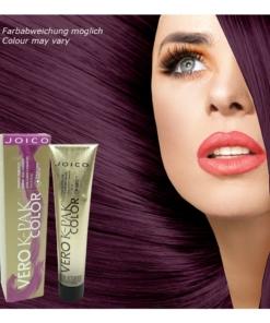 Joico Vero K-PAK Violet Intensifier Permanente Creme Haar Farbe MULTIPACK 3x74ml