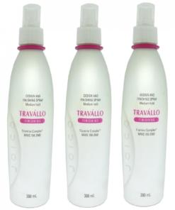 JOICO TRAVALLO Design and Finishing Hair Spray Haar Styling Lotion medium Halt - 3 x 300 ml