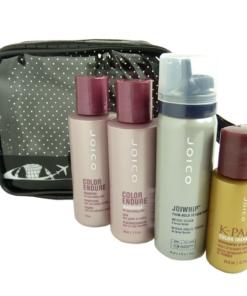 JOICO Reise Pflege Set coloriertes Haar Shampoo Conditioner Haarschaum Öl