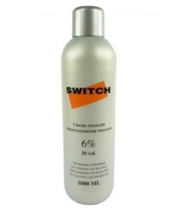 Switch Creme Wasserstoff Peroxyd 6% 20vol - Haar Blondierung - 1000ml