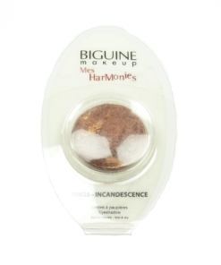 BIGUINE MAKE UP PARIS MES HARMONIES - Lidschatten Augen Farbe Kosmetik - 0,8g - 10628 Incandescence