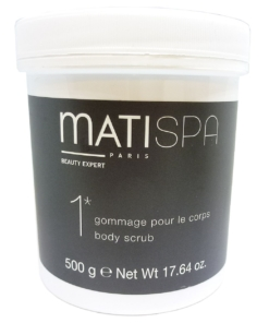 Matis Matispa 1 gommage pour le corps Body Scrub Körper Reinigung Peeling 500g