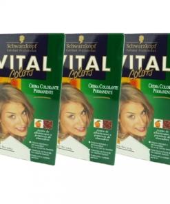 Schwarzkopf Multipack 3x Vital Colors 35 blond natur Haar Farbe Set Coloration