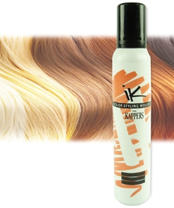 Kappers KIS Color Styling Mousse - Farb Auswahl - Haar Pflege Schaum Tönung - 1x200ml Mahogany