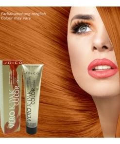 Joico - Vero K-PAK Color 8RG Medium Red Gold Permanente Creme Haar Farbe 3x74ml