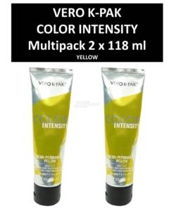 Joico Vero K-PAK Color Intensity Semi Permanent Color YELLOW Haarfarbe 2x118ml