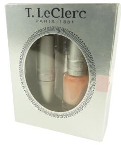 T. LeClerc PARIS 1881 Coffret des Elegantes Lippen Stift Nagel Lack Set - Beige Naturelle