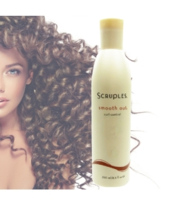 Scruples Smooth Out Curl Control Shampoo Haar Pflege Anti Frizz 350ml