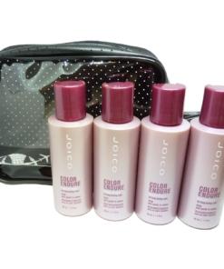 JOICO Color Endure Conditioner Set coloriertes Haar Pflege 4x50ml + Reise Tasche